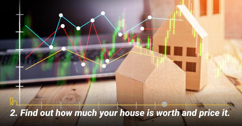 Find out how much your house is worth and price it