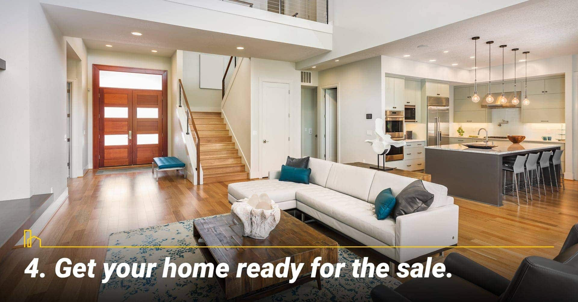 Get your home ready for the sale