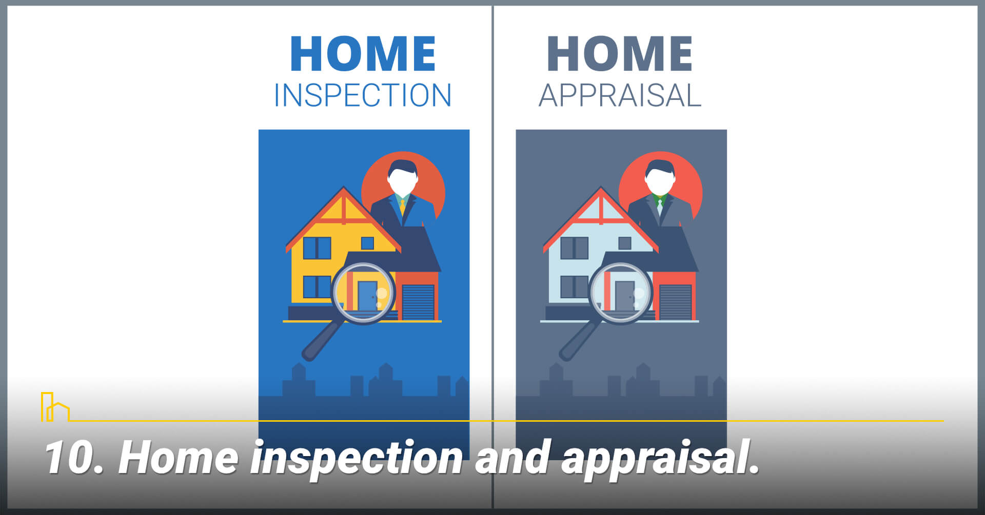 Home inspection and appraisal, final steps in selling your home