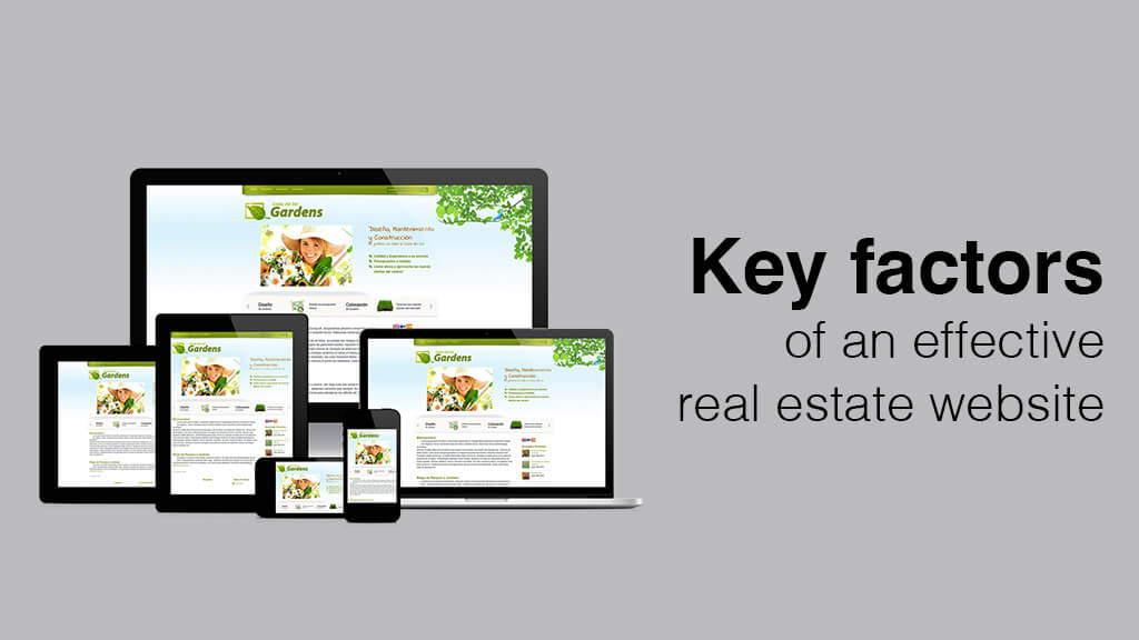 Key Factors of an Effective Real Estate Website
