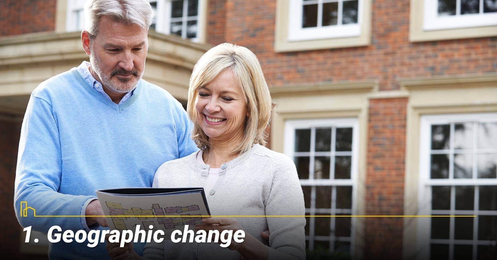 Geographic change