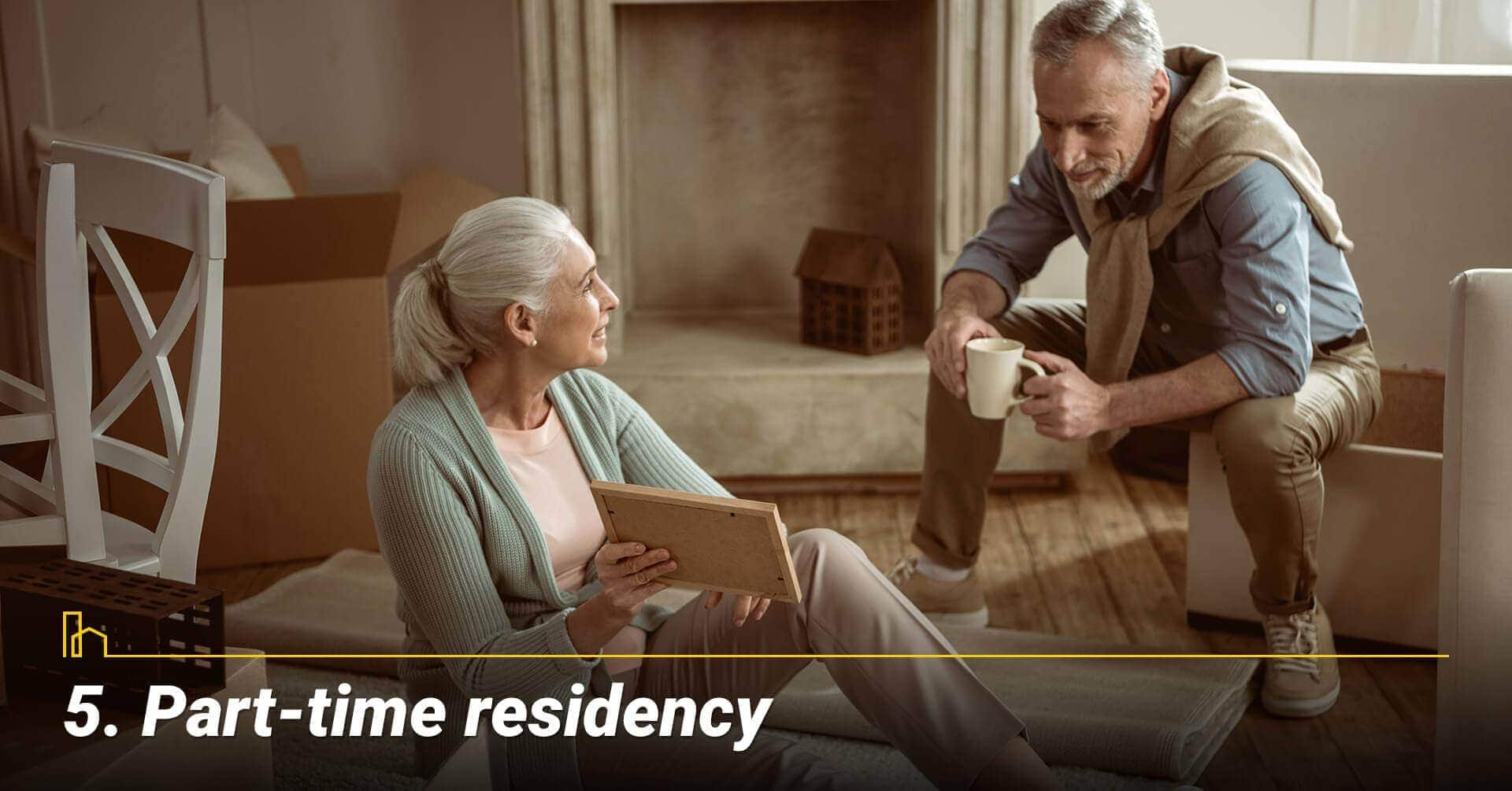 Part-time residency, splitting your time as a townhome resident