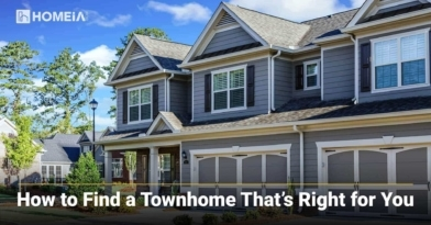 How to Find a Townhome That's Right for You