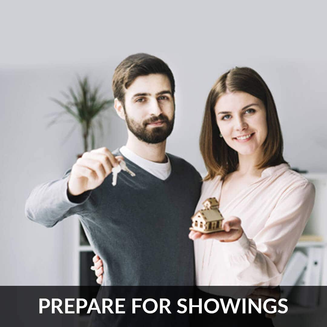 Prepare for showings