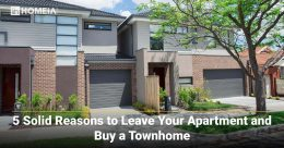 5 Solid Reasons to Leave Your Apartment and Buy a Townhome