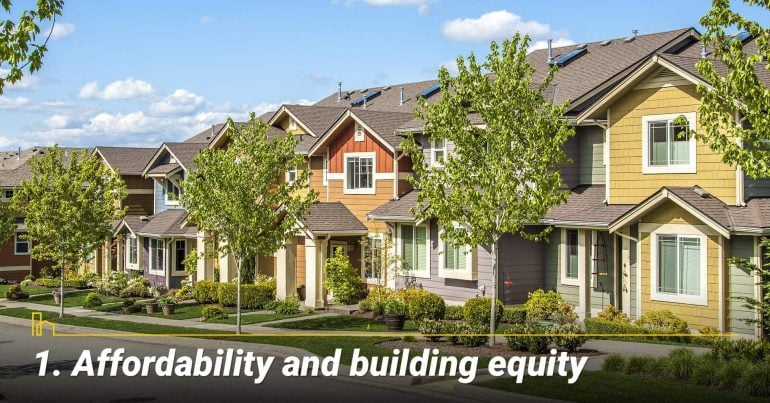 Affordability and building equity