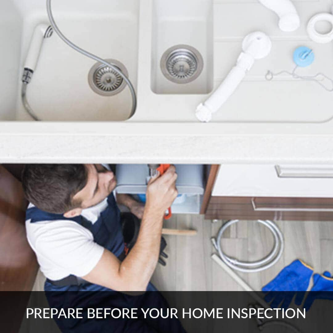 Prepare before your home inspection