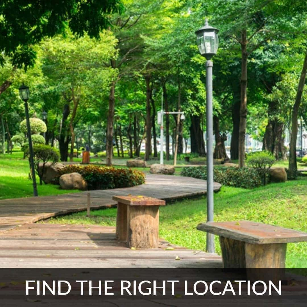 Find the right location