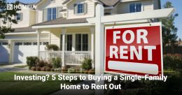 5 Steps to Buying a Single-Family Home to Rent Out
