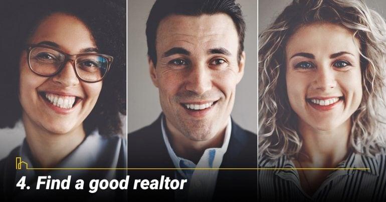 Find a good realtor