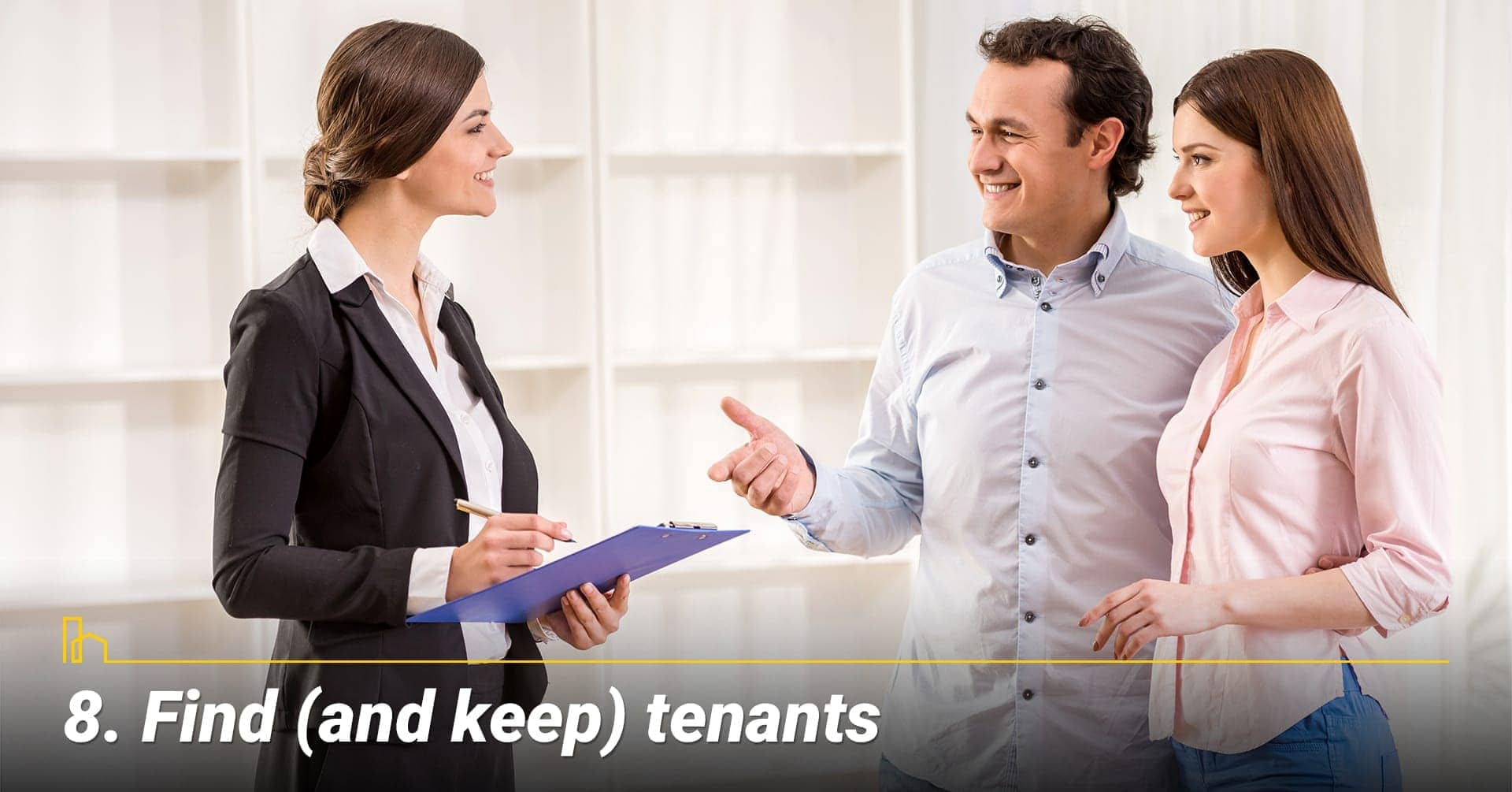 Find (and keep) tenants