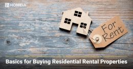 Basics for Buying Residential Rental Properties