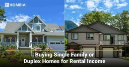 Buying Single Family or Duplex Homes for Rental Income