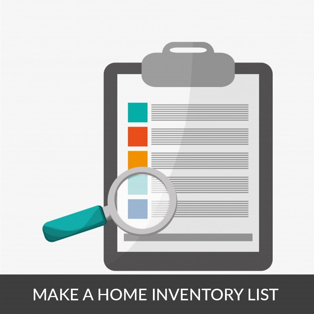 Make a home inventory list