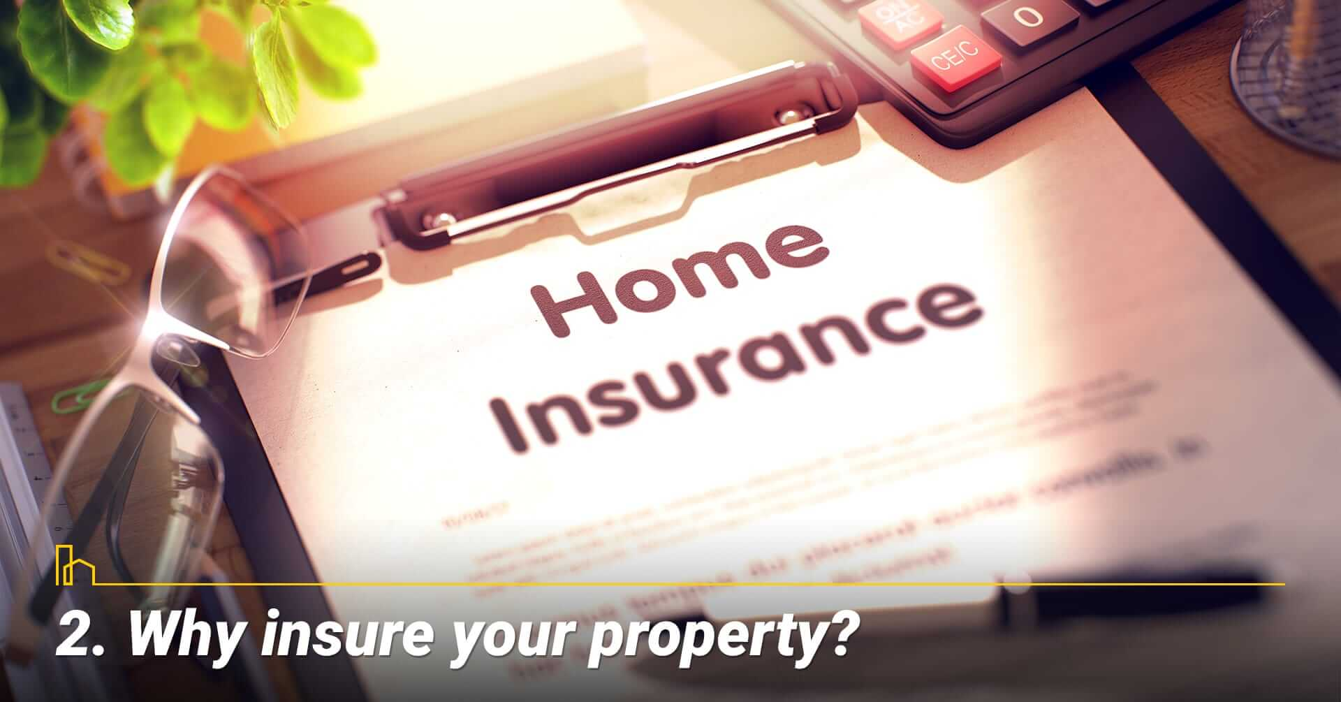 Why insure your property? Reasons to insure your home