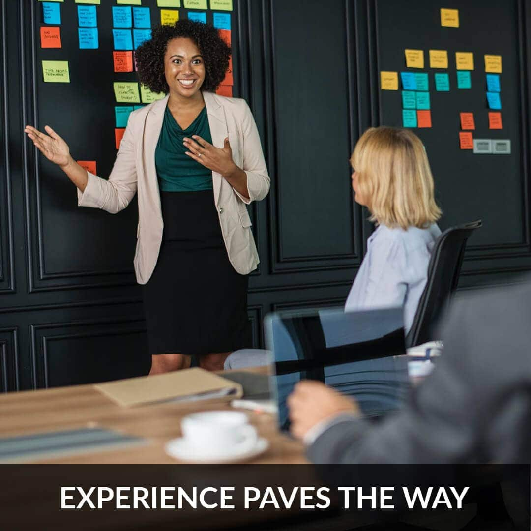 Experience paves the way
