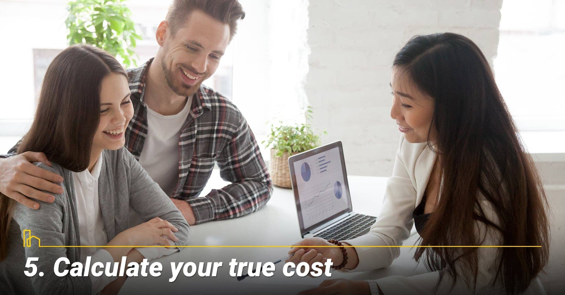 Calculate your true cost, true cost of buying a home