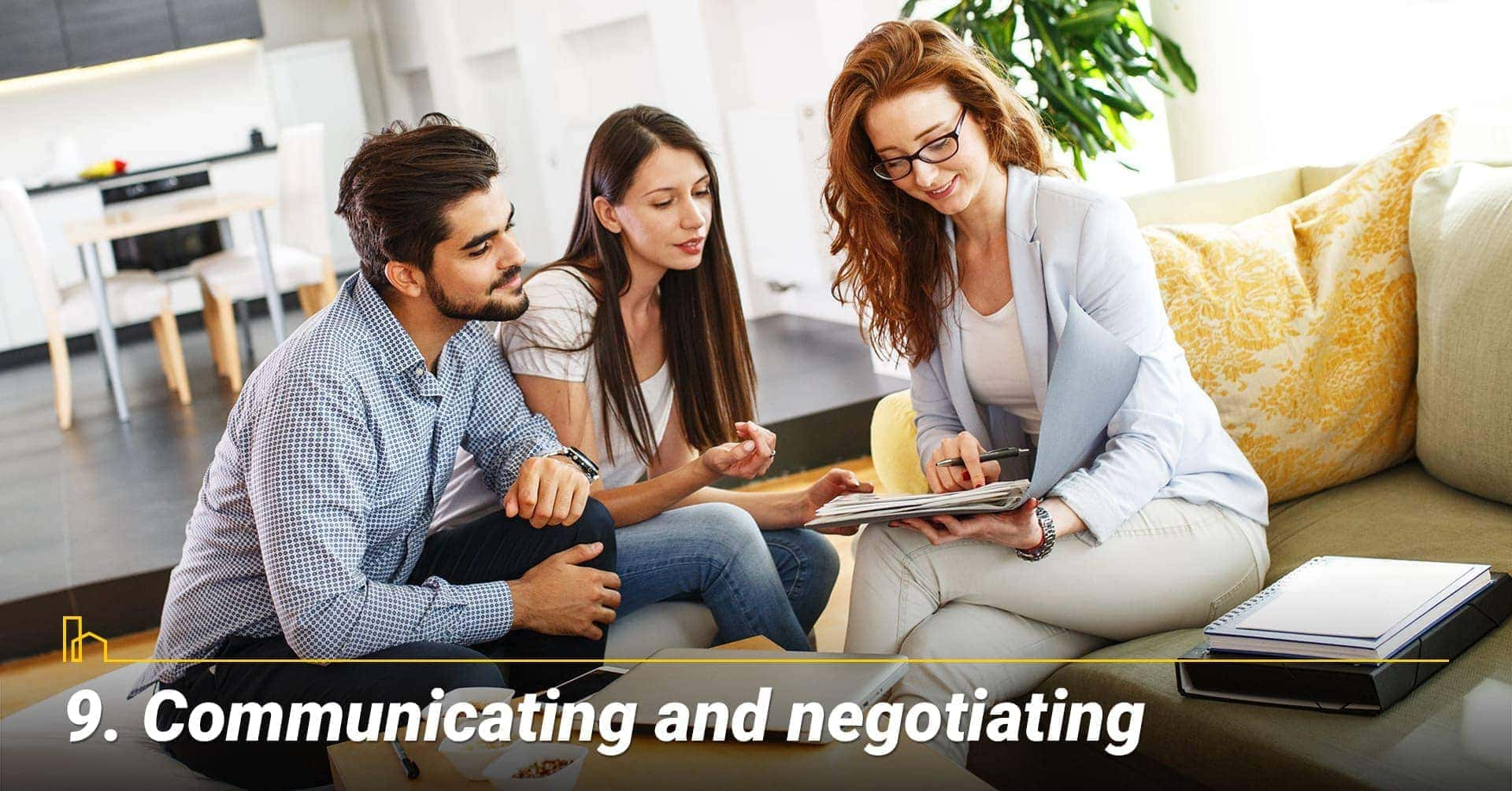 Communicating and negotiating