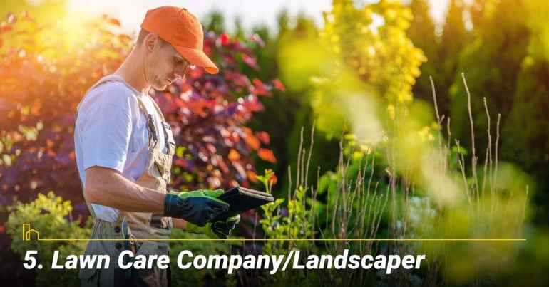 Lawn Care Company/Landscaper