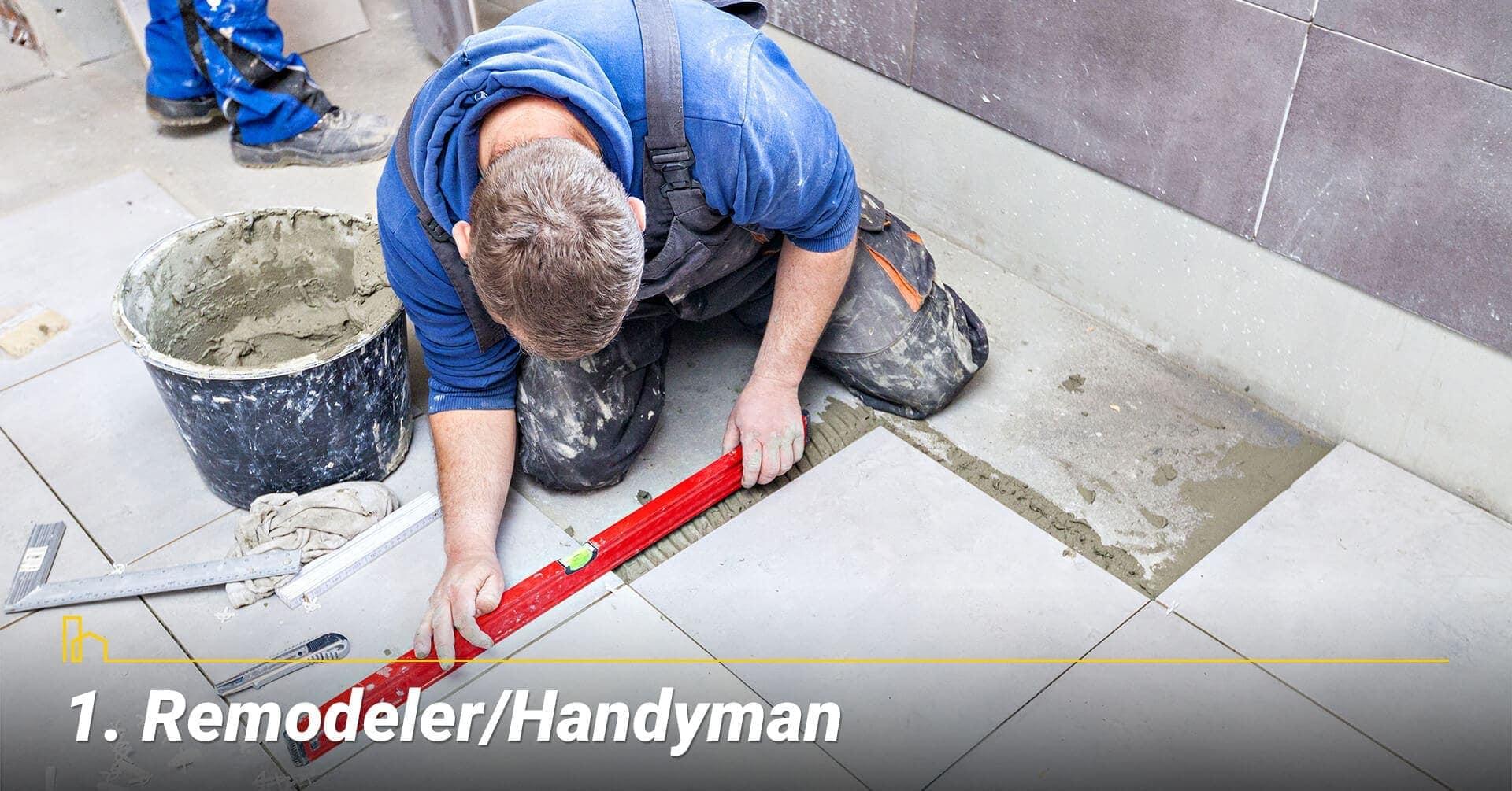Remodeler/Handyman