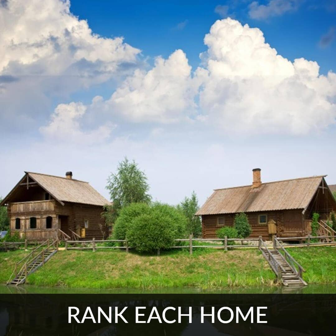 Rank each home