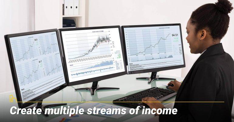 Create multiple streams of income