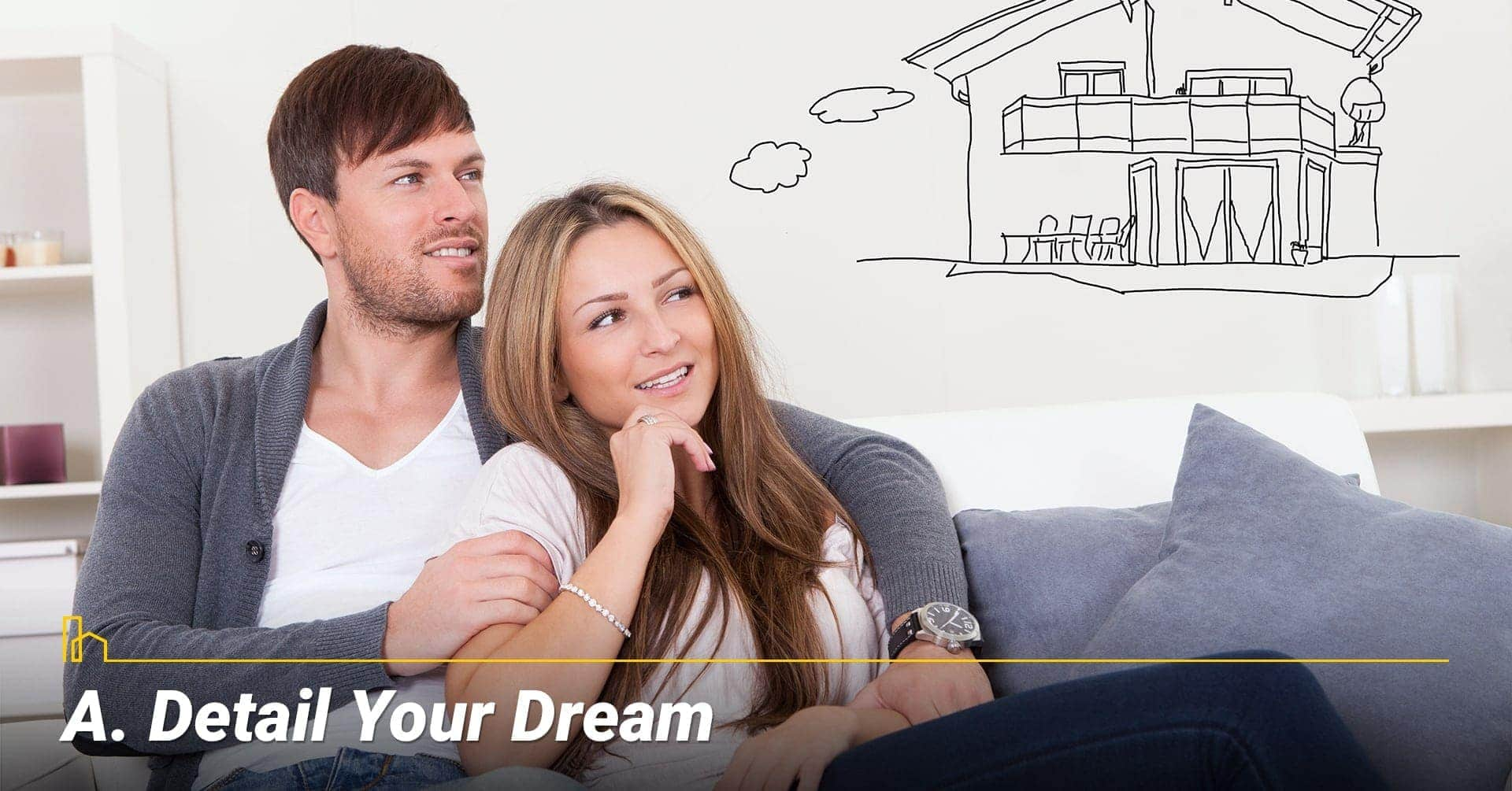 Detail Your Dream, know what you want in a home