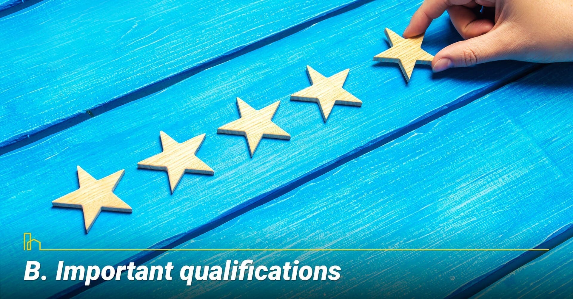 Important qualifications