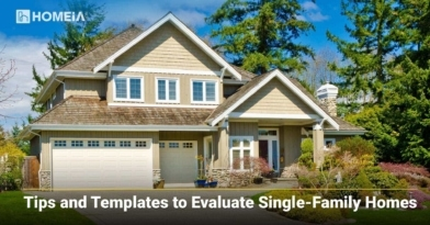 Tips and Templates to Evaluate Single-Family Homes