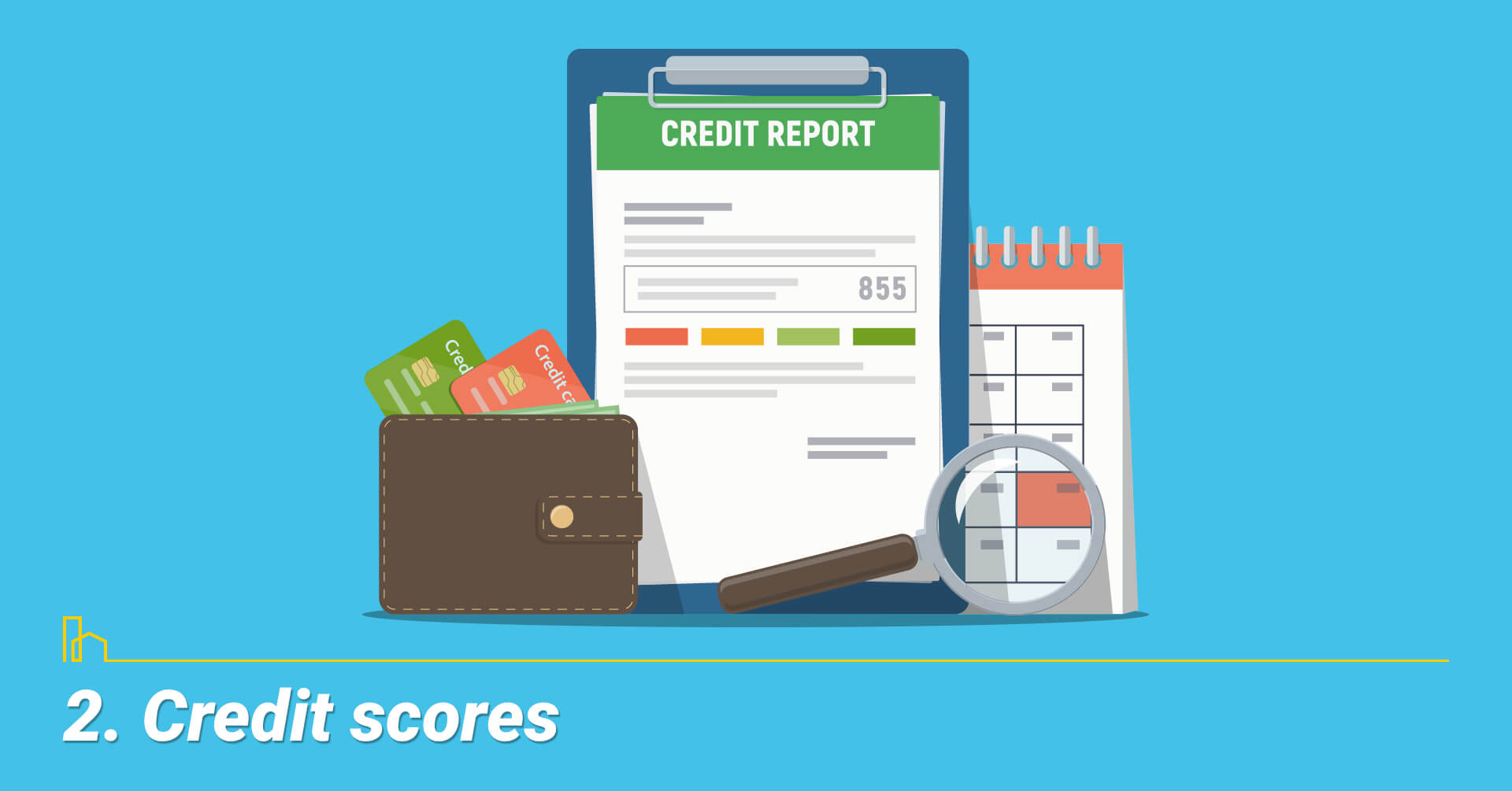 Credit scores, keep your credit scores up