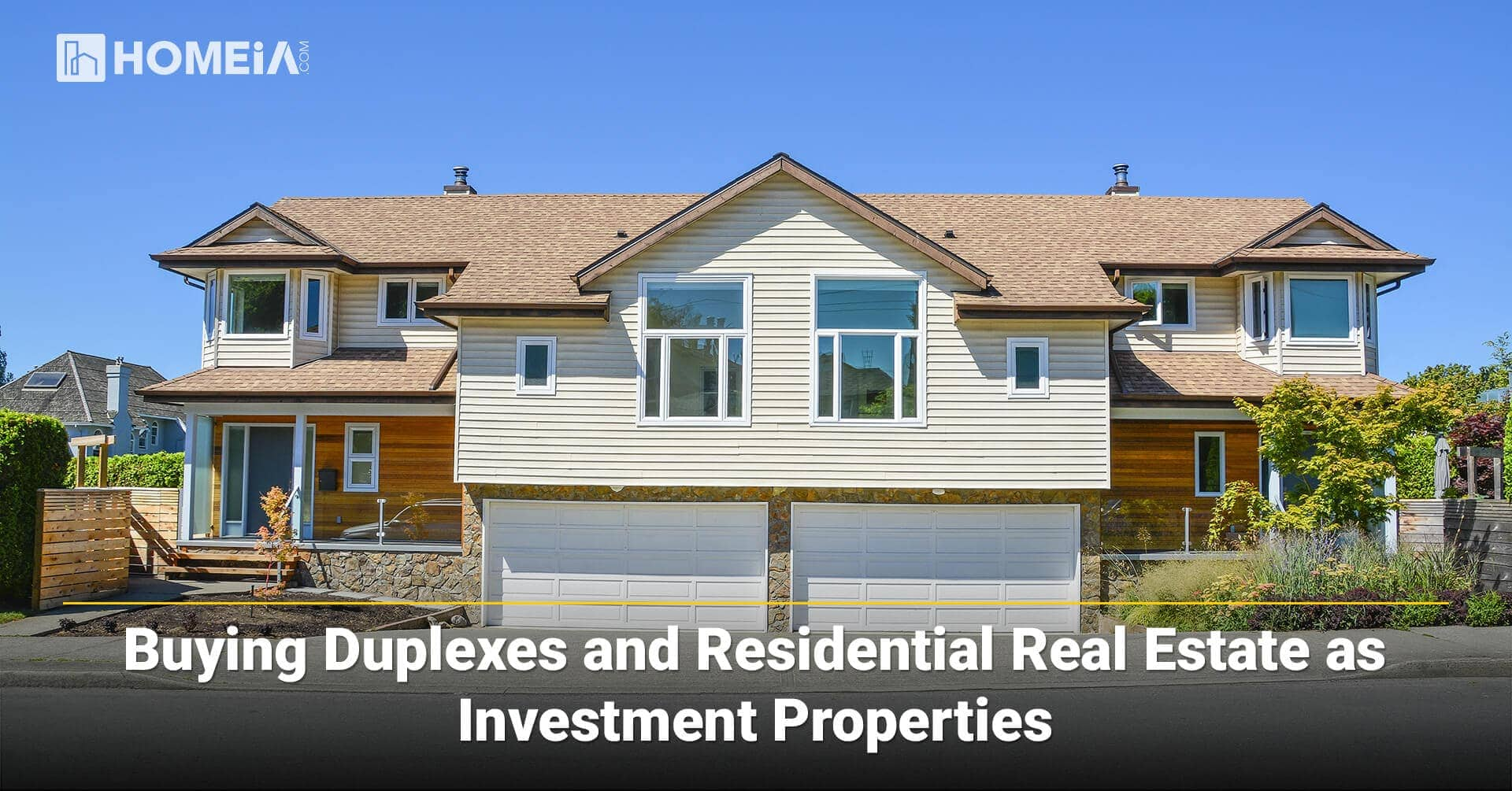 Buying Duplexes and Residential Real Estate as Investment Properties