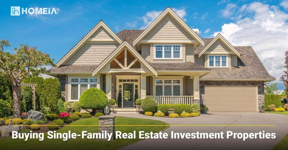 Buying Single-Family Real Estate Investment Properties