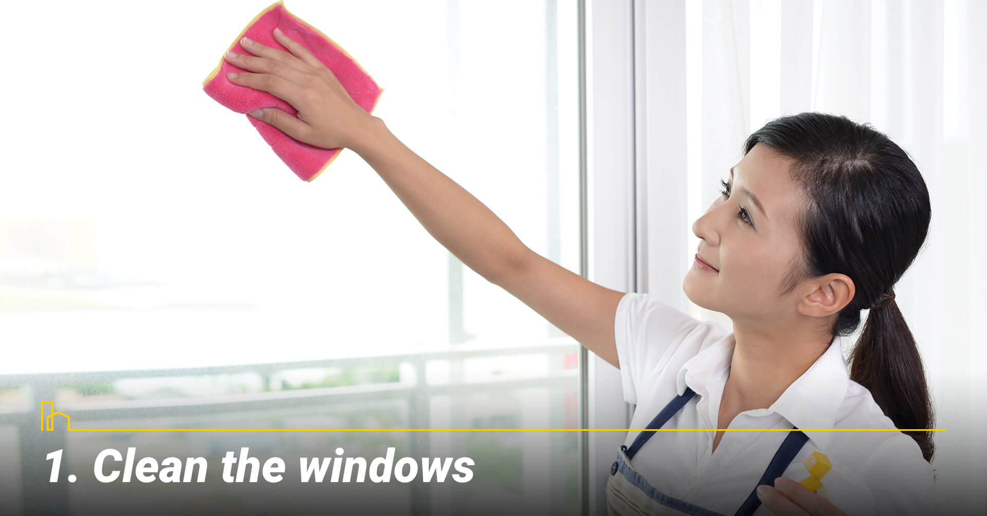 Clean the windows, keep windows clean