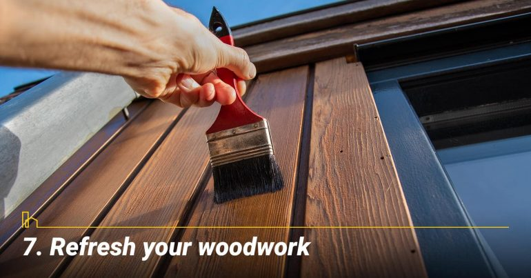 Refresh your woodwork