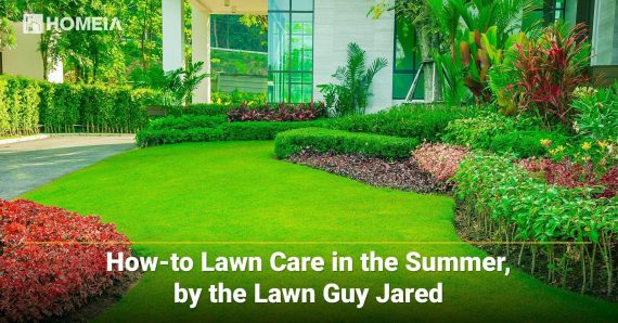 How-to Lawn Care in the Summer, by the Lawn Guy Jared