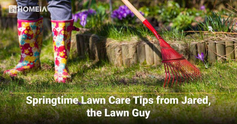 Springtime Lawn Care Tips from Jared, the Lawn Guy