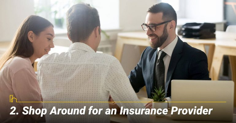Shop Around for an Insurance Provider