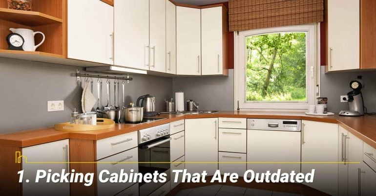Picking Cabinets That Are Outdated