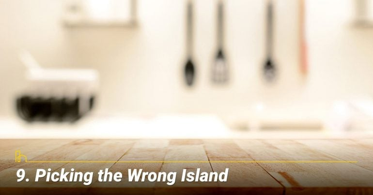 Picking the Wrong Island