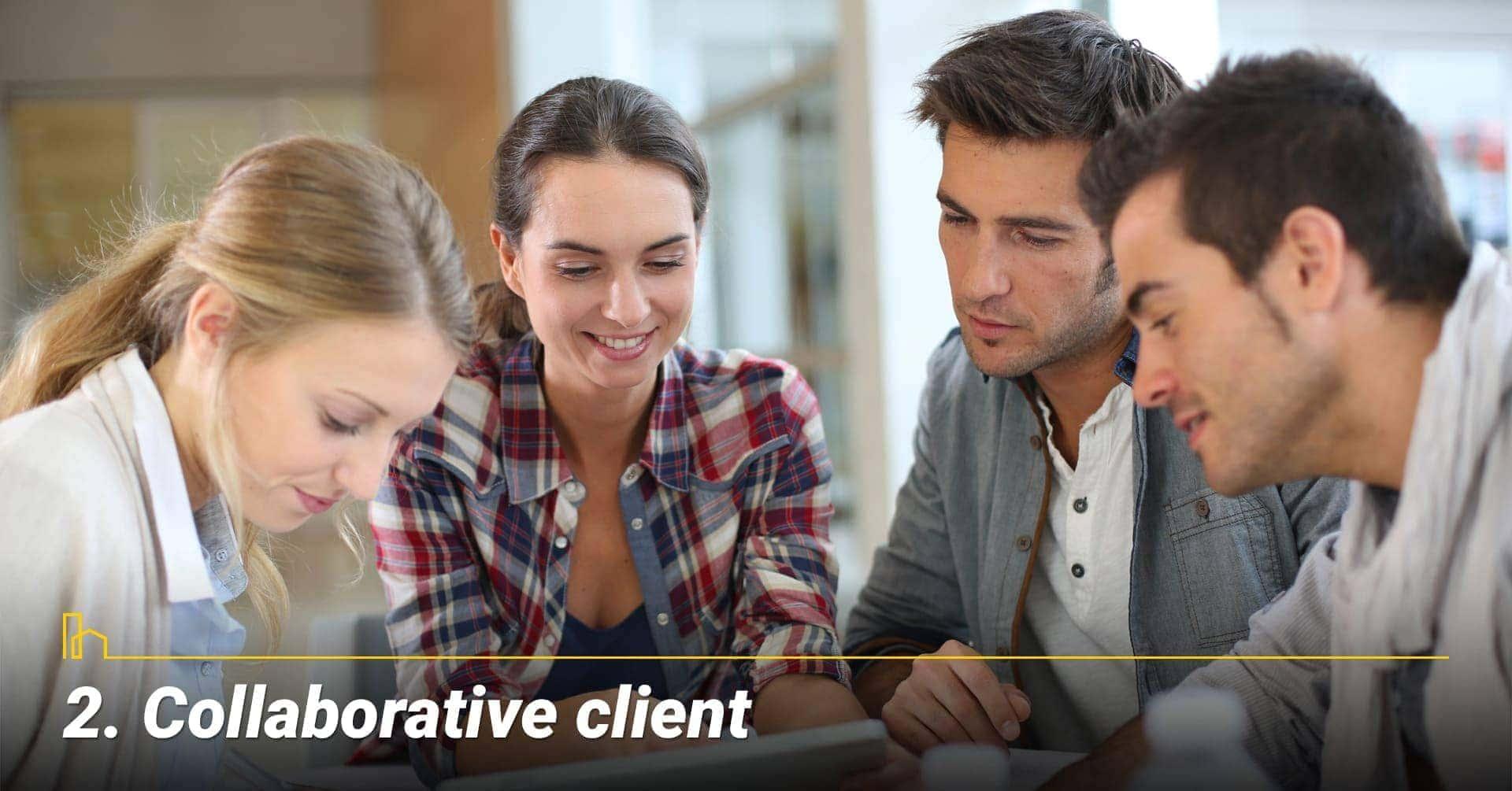 Collaborative client