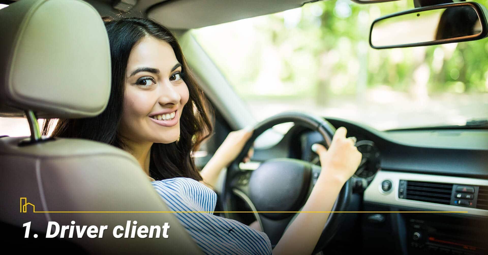 Driver client