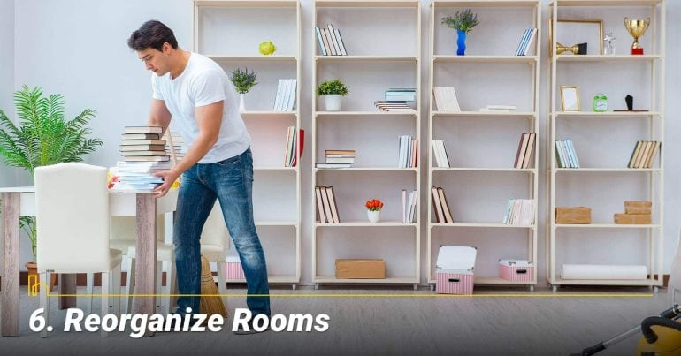 Reorganize Rooms