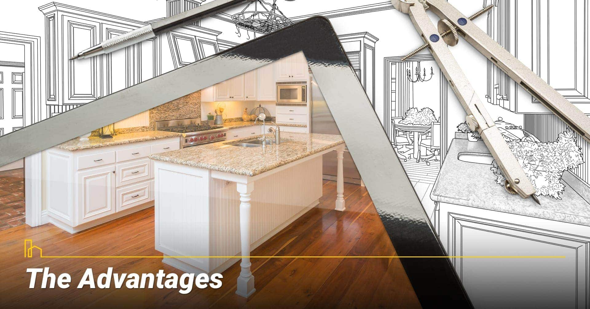 The Advantages, the advantages of buying a home
