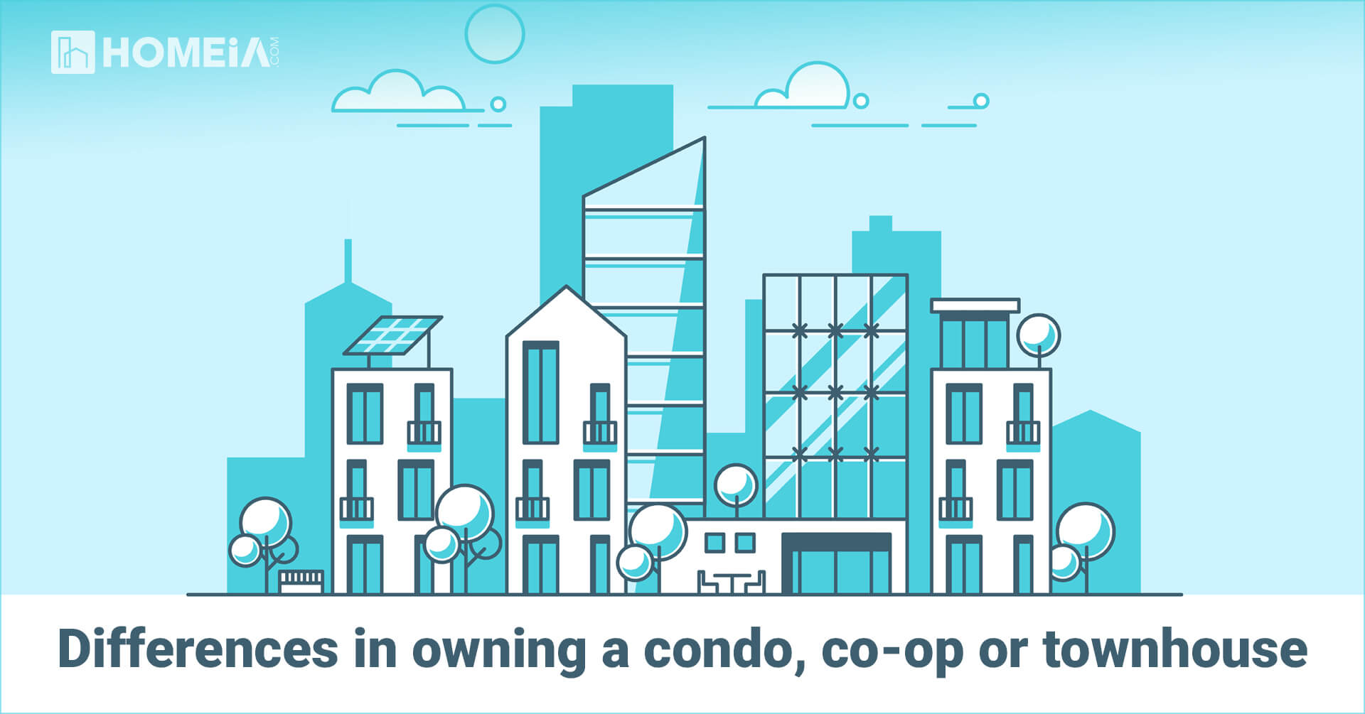 Differences in Owning a Condo, Co-op or Townhouse