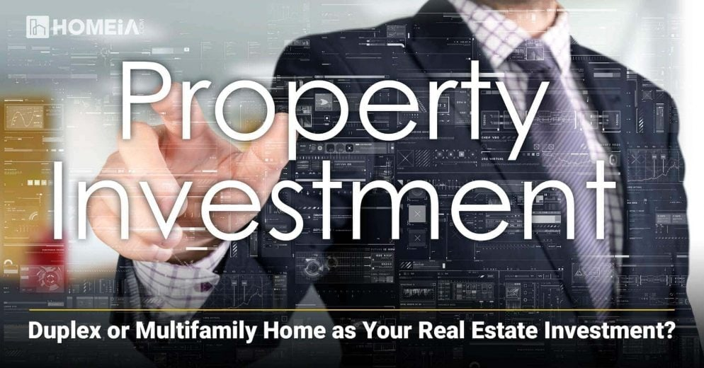 Duplex or Multifamily Home as Your Real Estate Investment?