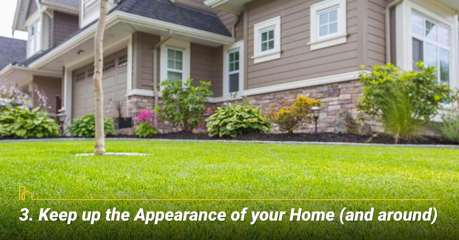 Keep up the Appearance of your Home (and around)