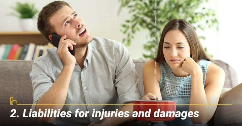 Liabilities for injuries and damages