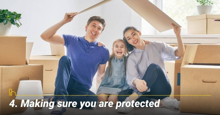 Making sure you are protected