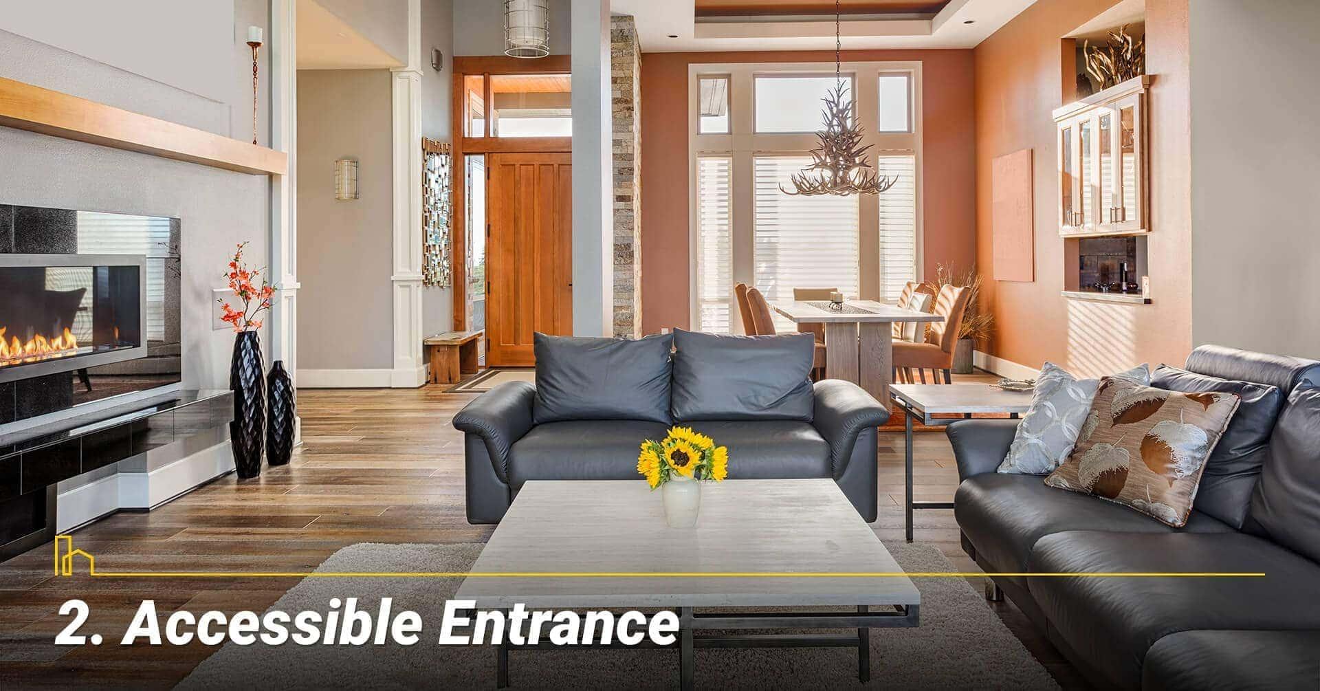 Accessible Entrance