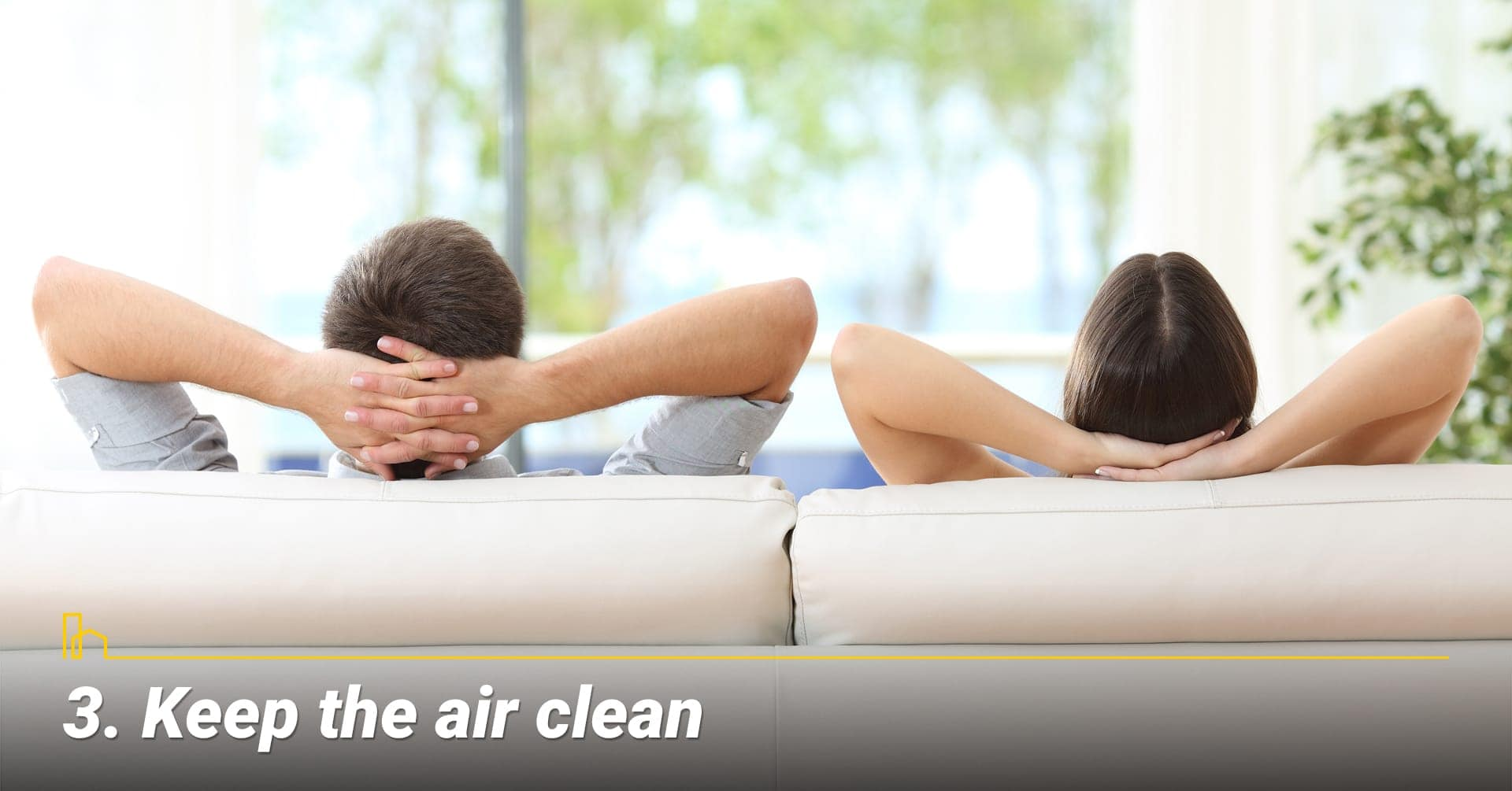 Keep the air clean, keep healthy air